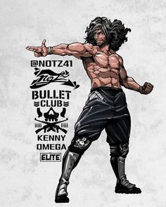 Kenny Omega by @NOTZ