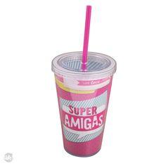COPO CANUDO - SUPER AMIGAS -