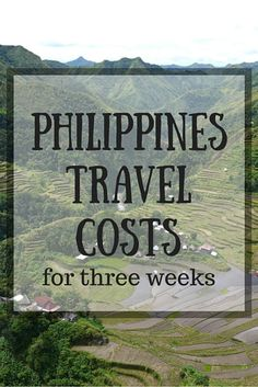 Our Philippines Travel Costs For Three Weeks