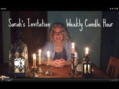 Sarah Proposes a Weekly Candle Hour for Families LOVE this idea!