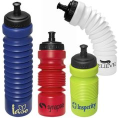 ACCORDIAN WATER BOTTLE  with your personalization Bar Mitzvah or Bat Mitzvah Party Favor, Giveaway, Event Giveaway, Branded Promo