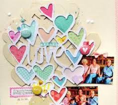 sizzix thinlits die - scattered hearts - Google Search Cookie Cutters, Hearts, Google Search
