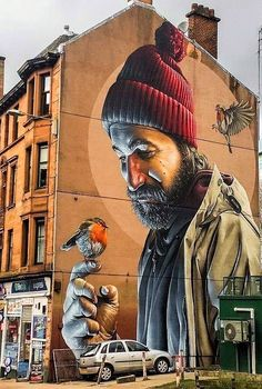 glasgow artists and their best street art murals is part of Best street art - Glasgow Artists and their Best Street Art Murals Streetart Graffiti 3d Street Art, Murals Street Art, Street Art Graffiti, Best Street Art, Amazing Street Art, Art Mural, Amazing Art, Graffiti Murals, Urban Street Art
