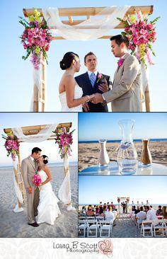 Elizabeth & Shane's Wedding Ceremony at South Beach Coronado 9/9/09 « Laura B Scott Photography Blog