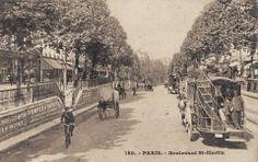 Le boulevard Saint-Martin vers 1910. Il faisait beau ce jour-là...
