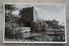 "Real Photographic Postcard ""Broughton Castle & Gatehouse Banbury"" Oxfordshire"