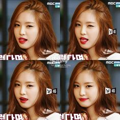 APink NaEun Red Lips