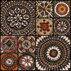 The desire to save seeds comes from an ethical urge to defend life's evolution.  ~ Dr Vandana Shiva Seed Art by Mandal'ana's via facebook.com/savetheseed  #Mandala #seeds