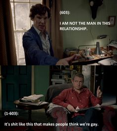 Gotta love the Johnlock
