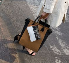 07 Black and White Spotted Wristbag 07 by Laael
