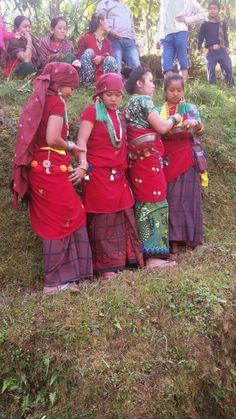 Nepali magar girls ...