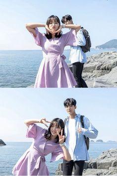 Cuties ❤ (Drama: Extraordinary You Cast: Kim Hye-yoon as Eun Dan-oh, Kim Ro-woon as Number 13 / Ha-ru, Lee Jae-wook as Baek Kyung, Jung Gun-joo as Lee Do-hwa) Korean Celebrities, Korean Actors, Korean Drama List, Number 13, Min Yoongi Bts, Favorite Tv Shows, Kdrama, Glow, It Cast