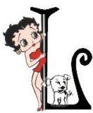 Betty Boop Pictures Archive: Betty Boop alphabet - L and M