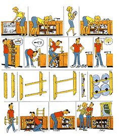 Family Handyman Wordless Workshop Book Cover by Roy Doty
