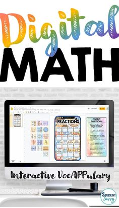 Math Vocabulary Activities - Interactive VocAPPulary™ (Editable Vocabulary Versions Included) } These creative resources are a simple, yet effective way for students to learn vocabulary on a specific topic! The perfect tool for learning and memorizing important math concepts!  What is unique about Interactive VocAPPulary™ is that it combines the use of illustration, word walls, and flashcards in a trendy, student-friendly package. Vocabulary Activities, Teaching Activities, Sensory Activities, Teaching Science, Teaching Reading, Teaching Ideas, Learning, Sixth Grade, Third Grade