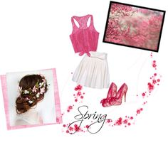 """""""A Simple Spring"""" by zuwena778 on Polyvore"""