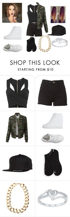 """""""Untitled #1660"""" by dream-rianne101 ❤ liked on Polyvore featuring Derek Lam, LE3NO, DKNY, Flexfit, Puma and Gogo Philip"""