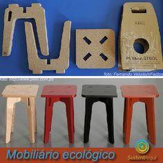 Mobiliário ecológico projetado de maneira sustentável desde a origem dos materiais, ao processo optimizado de fabricação, até a embalagem. #ecodesign https://www.facebook.com/photo.php?fbid=163567653836603=a.149910438535658.1073741826.129790283881007=1
