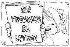 PORTADAS PARA NUESTROS TRABAJOS Acting, Classroom, Education, Comics, School, Ideas Para, Print Coloring Pages, Ideas, Spanish