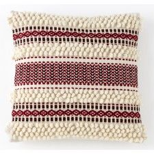 Knit Terra Pillow - cool tribal pattern!  This pattern would be a neat in an accessory.