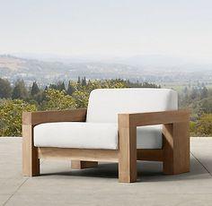 RH- Bardenas Lounge Chair
