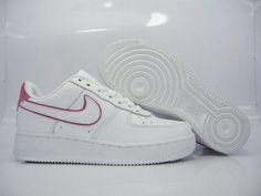 Nike Air Force 1 Low Premium White/Dark Pink for Women
