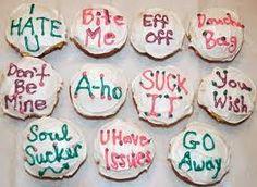 Anti Valentines Day Cupcakes Decoration...