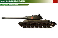 Iosef Stalin IS-4 Heavy Tank
