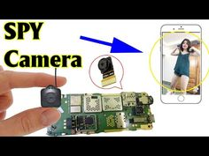 - YouTube Electronics Mini Projects, Electronics Basics, Electronic Circuit Projects, Diy Security Camera, Wireless Security Cameras, Old Cell Phones, Old Phone, Wireless Spy Camera, How To Make Camera