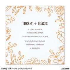 33 best thanksgiving invitations images in 2018 thanksgiving