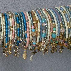 Seed Bead Bracelets & Charma