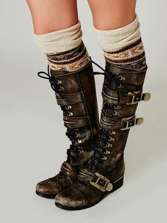 Free People Kantell Lace Up Boot at Free People Clothing Boutique $368  (THESE ARE AMAZINGGGGGGG)