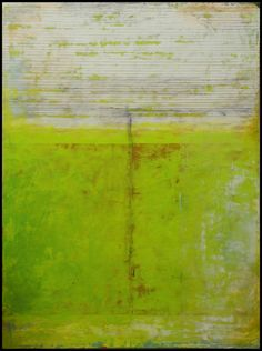 "Delhi, 2015 41 "" x 31 "" x 1.5 "" Oil, beeswax and pigment on wood panel"