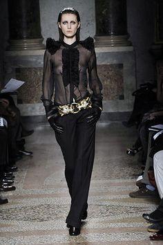 Francesco Scognamiglio Fall 2008 Ready-to-Wear Fashion Show - Mariacarla Boscono