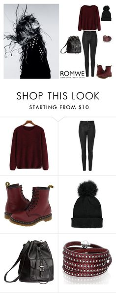 """""""Simply."""" by edinanurkovic ❤ liked on Polyvore featuring moda, Topshop, Dr. Martens, Forever 21, Magdalena, H&M e Sif Jakobs Jewellery"""
