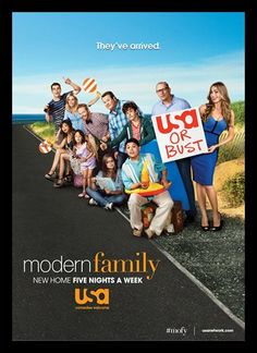 Quadro Poster Series Modern Family 3 - Decor10