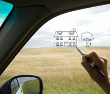 Cool idea for kids on a road trip. Dry erase markers and imagination!!