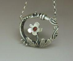 Milica Popovic Bubanja's beautifully unique three dimensional necklace.
