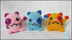 Maneki Neko colorati portachiavi