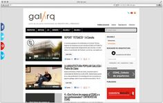 Diseño web Galarq   María Vilarino
