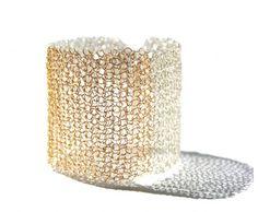 Cuff Bracelet Silver & Gold