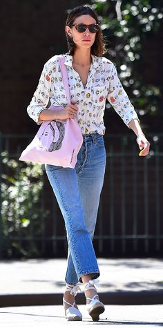 Alexa Chung's Effortlessly Cool Street Style - July 20, 2016 from InStyle.com