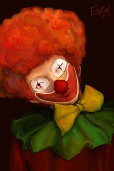 Clown ( that is some awesome piece of art!)