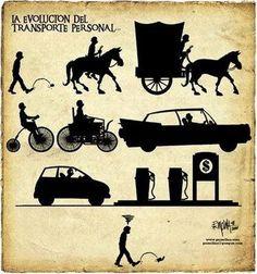 evolution of transport