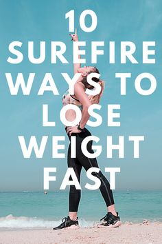 You need to have a proper exercise routine you'll be committed to every day. To lose weight fast, get engaged in cardio exercises like running, jogging, swimming, etc. You can also add in some weight training within the week to prevent the loss of muscle tissues and increase your strength... #weightloss #fhowtoloseweight