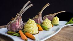 Roasted rack of lamb has never been easier with this step-by-step video!