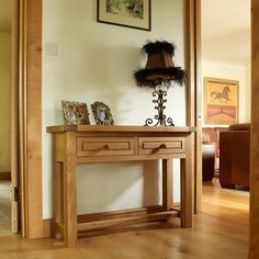 Browse our exceptional range of Console Hall Table at Furniture 4 Your Home today. Hall Console Table, Hallway Furniture, Small Homes, Solid Oak, Stability, Farmhouse Style, Flexibility, Strength, Europe