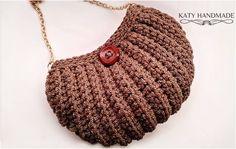 Crochet Shell Stitch Bag – Yarnandhooks