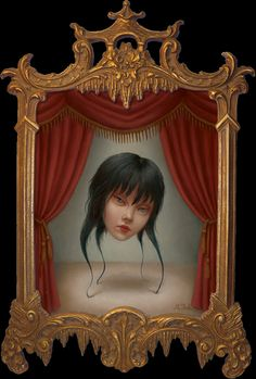 Marion Peck – 2004 – The Mysterious Miss Wu (oil on panel) Weird World, In This World, Illustrations, Illustration Art, Marion Peck, Collages, Scary Art, Creepy, Mark Ryden