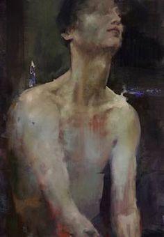 """Saatchi Art Artist Fanny Nushka Moreaux; Painting, """"Man II, 2014"""" #art"""